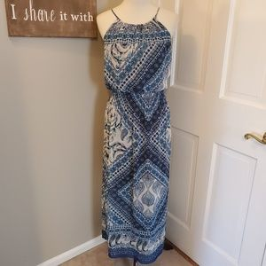 Enfocus Studio Spaghetti Strap Maxi Dress